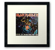 IRON MAIDEN - LIVE IN DORTMUND 1983 Framed Print