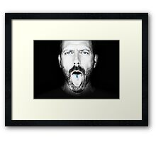 Dr. House Framed Print