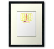Stay on target Framed Print