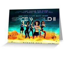 SpiceWorld 2 Greeting Card