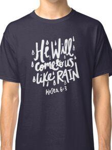 Hosea 6: 3 x Navy Classic T-Shirt