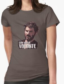 Gian Maria Volonte - El Indio Womens Fitted T-Shirt