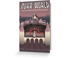 Art Deco Nuka-World - Fallout 4 Greeting Card