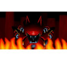 Metal Sonic Kai Bad Ending Photographic Print