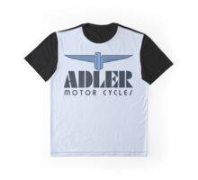 Art deco logo remake Adler motorcycles Graphic T-Shirt