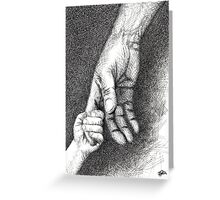 Hands Greeting Card