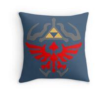 Twilight Princess Shield Throw Pillow