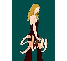Slay Buffy Photographic Print