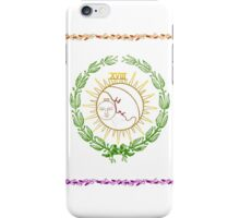Sun and Moon Hippie - Bohemian Style iPhone Case/Skin