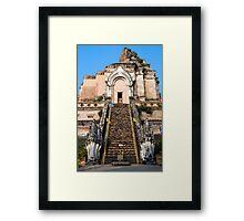 Wat Chedi Luang in Chiang Mai Framed Print