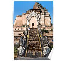 Wat Chedi Luang in Chiang Mai Poster