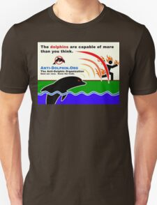 dolphins control everything Unisex T-Shirt