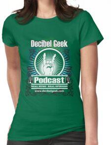 Decibel Geek  - Horns Up! Womens Fitted T-Shirt