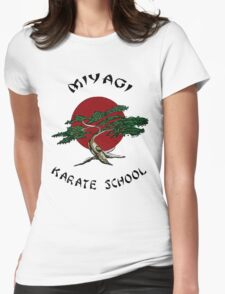 Miyagi Karate School Womens Fitted T-Shirt