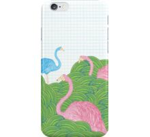 Flarin in the Garden iPhone Case/Skin