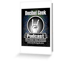 Decibel Geek  - Horns Up! Greeting Card