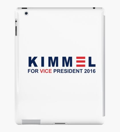 jimmy kimmel iPad Case/Skin