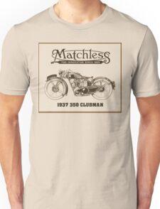 Matchless British classic motorcycle Unisex T-Shirt