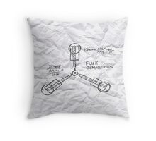 The Flux Capacitor Throw Pillow