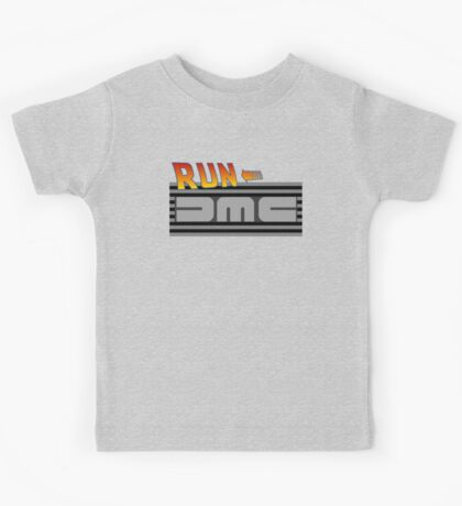 Run DMC (to the Future!) Kids Tee