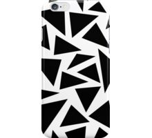 Black and White Triangles iPhone Case/Skin