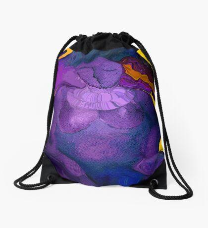 Purple Haze Drawstring Bag