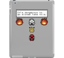 Take Pikachu! iPad Case/Skin