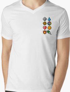 Pokemon Master Mens V-Neck T-Shirt