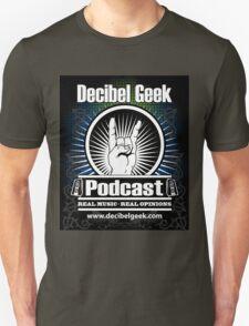 Decibel Geek Sticker T-Shirt