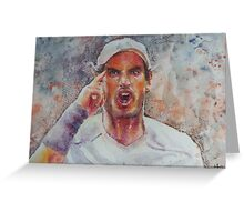 Andy Murray - Portrait 8 Greeting Card