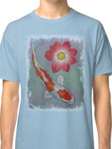Koi and Lotus Classic T-Shirt