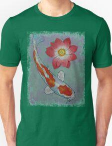 Koi and Lotus Unisex T-Shirt