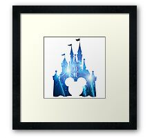 Mickeys Castle Framed Print