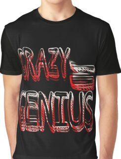 Crazy Genius Graphic T-Shirt