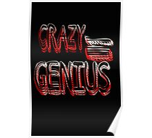 Crazy Genius Poster