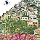 ... a little spider in Positano / Italy  ( 1 ) by Rachel Veser