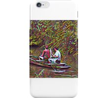 Promenade en barque iPhone Case/Skin