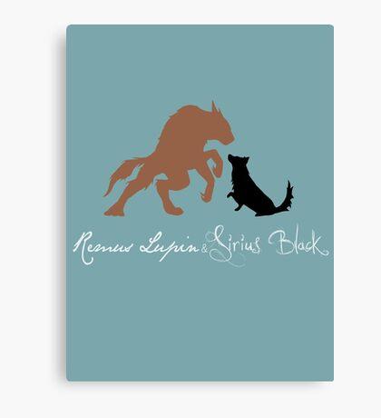 Remus & Sirius Canvas Print