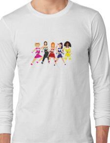 Girl-Power Rangers Long Sleeve T-Shirt