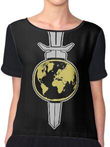 Terran Empire Logo from Star Trek Chiffon Top