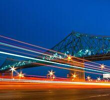 Jacques-Cartier Bridge by Michael Vesia