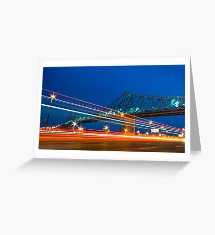 Jacques-Cartier Bridge Greeting Card
