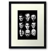Masters of Horror Framed Print