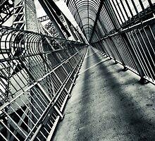 Steel Corridor by Michael Vesia