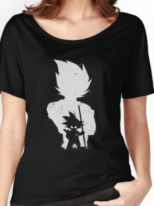 Son Goku old and young Women's Relaxed Fit T-Shirt