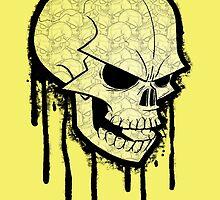 Skull Face by Bobby Baxter
