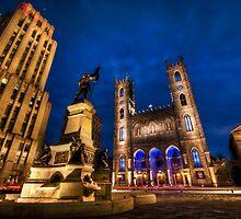 Notre-Dame Basilica 3 by Michael Vesia