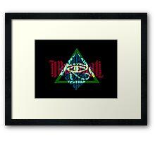 Illuminati Light Colours Framed Print
