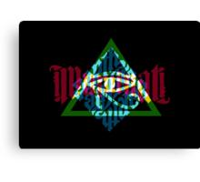 Illuminati Light Colours Canvas Print