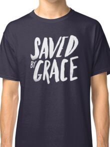 Saved by Grace x Navy Classic T-Shirt